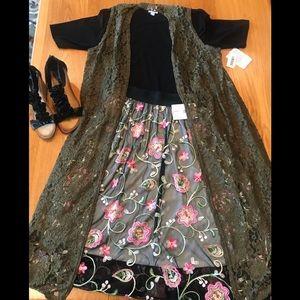 NWT LuLaRoe two piece outfit.  Large Lola/Med Joy